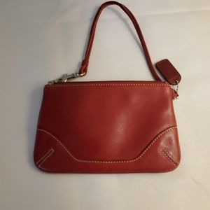 Coach Bags - Red Leather Small Coach Purse